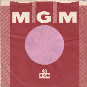 MGM Records U.K. Company Sleeve 1964 – 1966