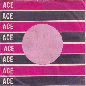 Ace Records U.S.A. Company Sleeve 1959 – 1963