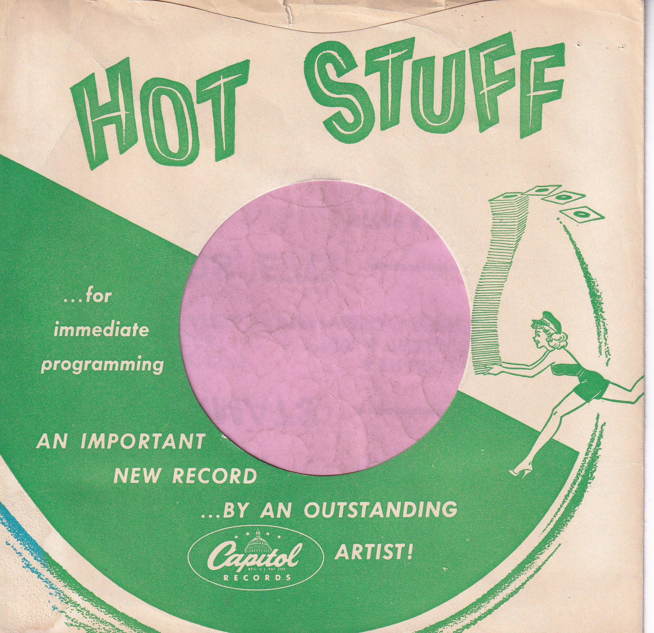 Have just uploaded some new Record Company Sleeves on the website today . All from Capitol Records from 1951 to 1981 .