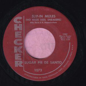 """Sugar Pie De Santo """" Slip-In Mules """" Checker Vg+"""