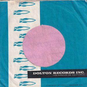 Dolton Records U.S.A. Company Sleeve 1962 – 1965