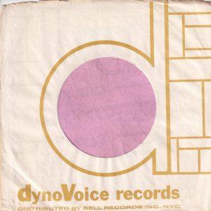DynoVoice Records U.S.A. Company Sleeve 1965 – 1967