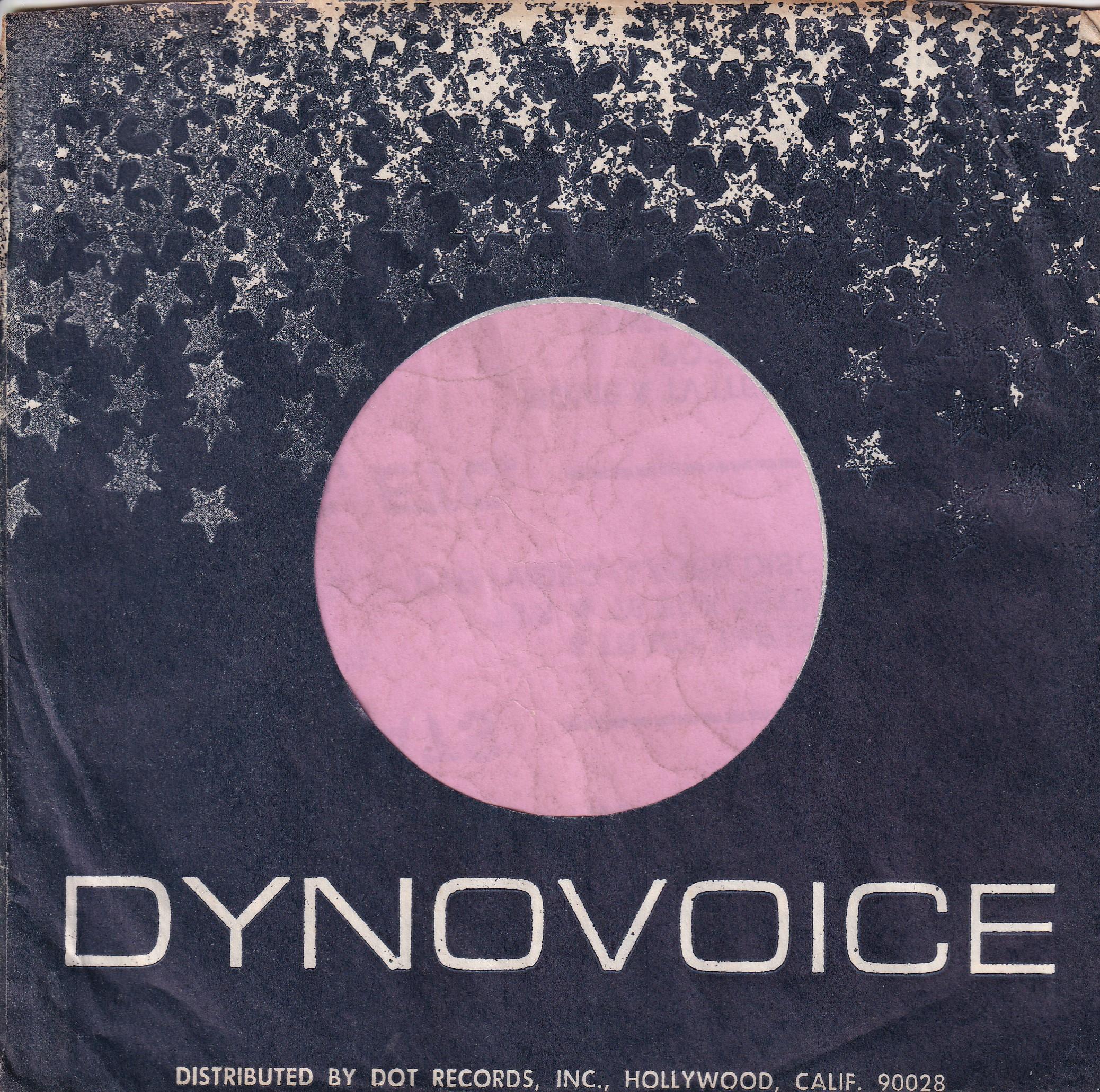 DynoVoice Records U.S.A. Company Sleeve 1967 – 1969