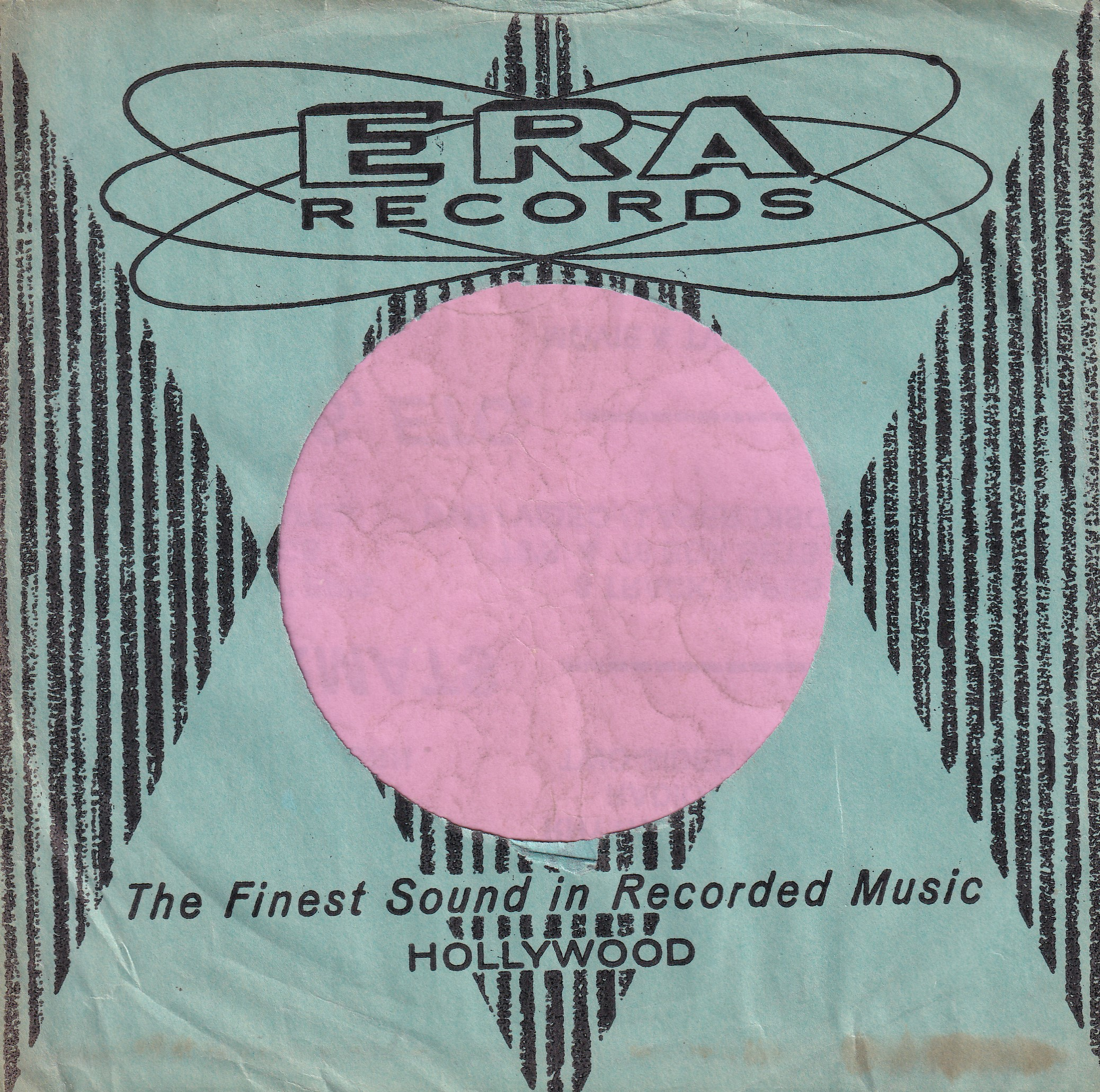 Era Records U.S.A. Company Sleeve 1955 – 1959