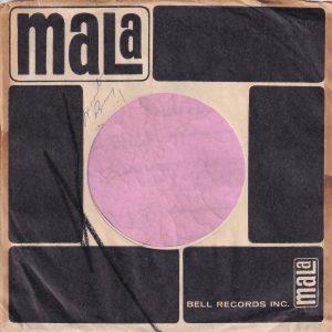 Mala Records U.S.A. Company Sleeve 1959 – 1964