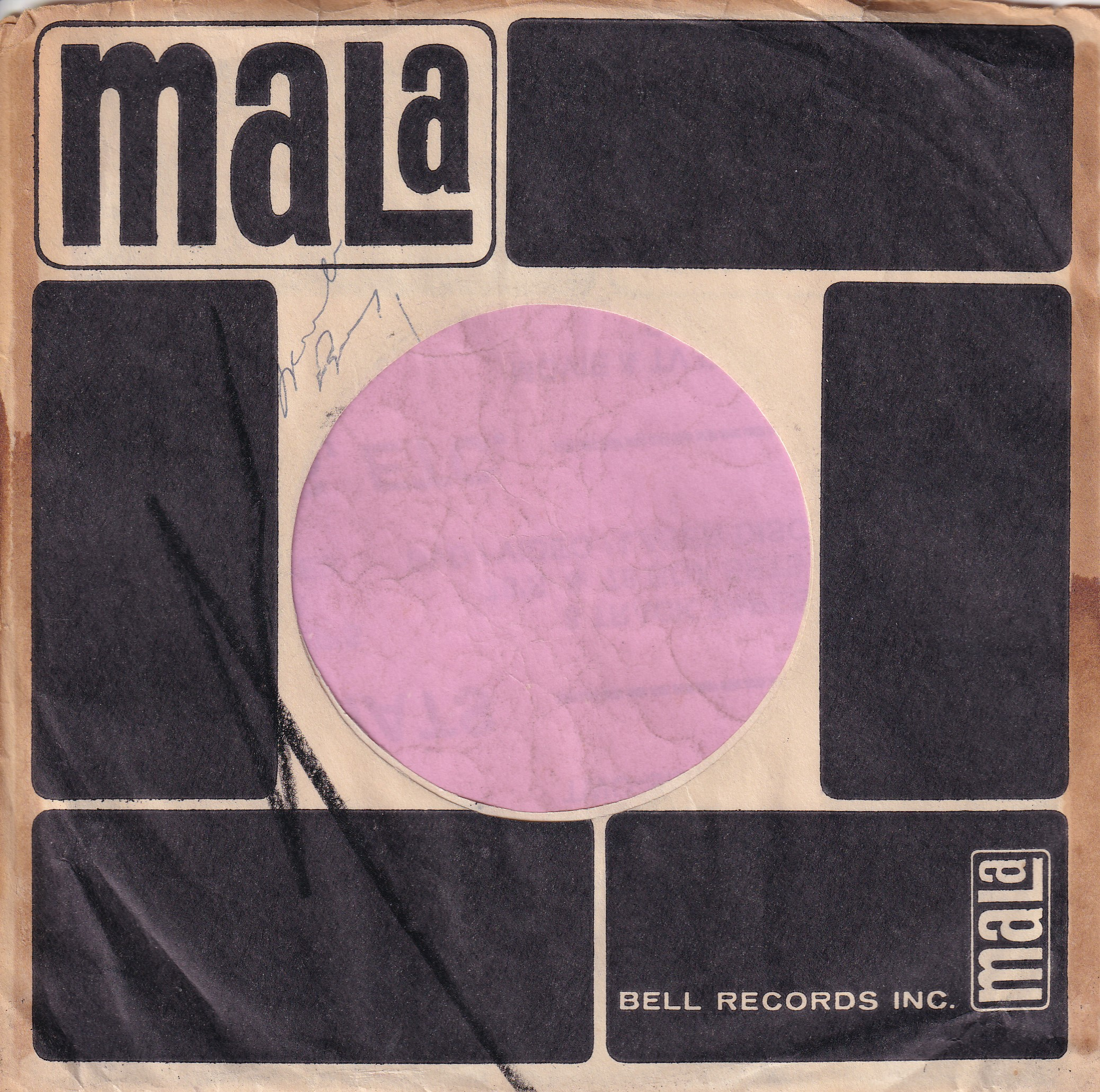 Mala Records U.S.A. Company Sleeve 1959 – 1964
