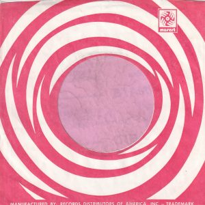 Musart U.S.A. Red Company Sleeve 196? – 1973