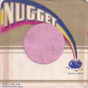 Nugget Records U.S.A. Coloured Print Company Sleeve 1964 – 1970