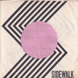 Sidewalk U.S.A. No Address Details Company Sleeve 1966 – 1968