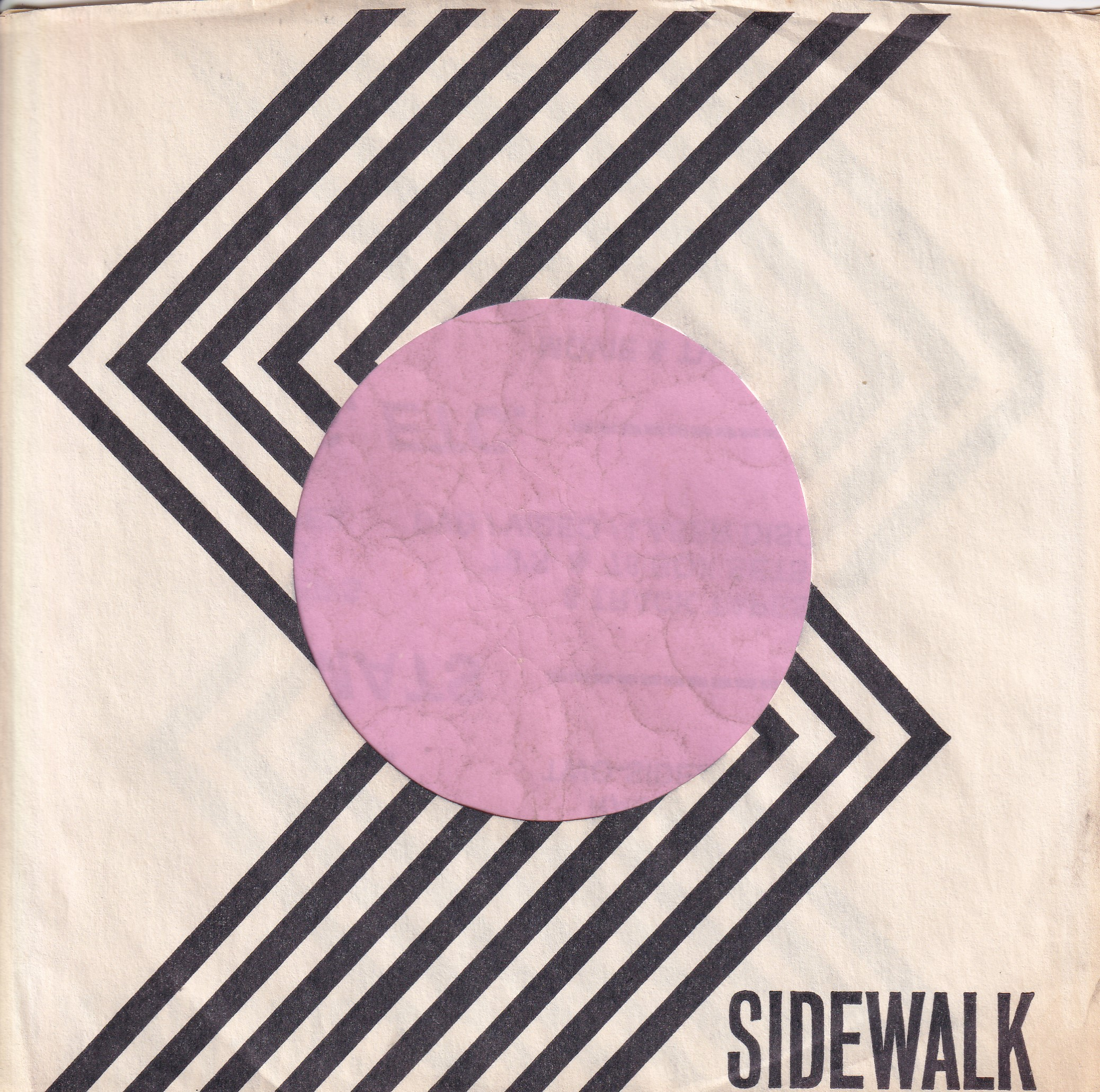Sidewalk U.S.A. No Address Details Company Sleeve 1966 – 1968
