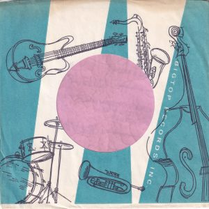 Big Top Records U.S.A. Instruments Reversed Both Sides Company Sleeve 1960 – 1964