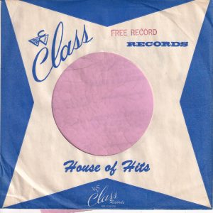 Class Records U.S.A. Blue Company Sleeve 1962 – 1965