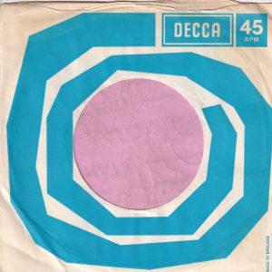 Decca U.K. Company Sleeve 1968 – 1971