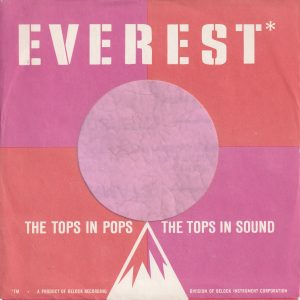 Everest U.S.A. No White Line On Bottom Edge Company Sleeve 1959 – 1961