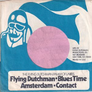 Flying Dutchman U.S.A. Company Sleeve 1975 – 1976
