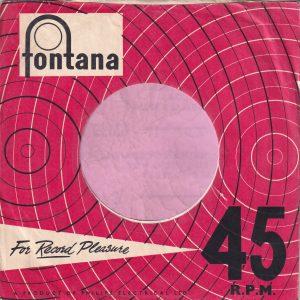 Fontana U.K. Company Sleeve 1958 – 1960