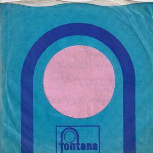 Fontana U.K. Company Sleeve 1970 – 1974