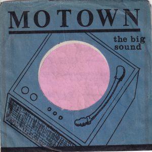 Motown U.S.A. Black Print On Blue Company Sleeve 1961 – 1964
