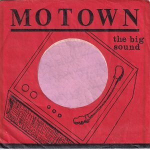 Motown U.S.A. Black Print On Red Company Sleeve 1961 – 1964