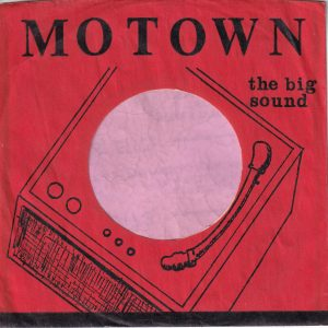 Motown U.S.A. Black Print On Red With No Line Printed Below Motown Company Sleeve 1961 – 1964