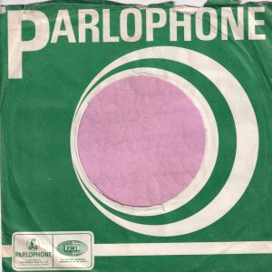 Parlophone U.K. Company Sleeve 1968 – 1972