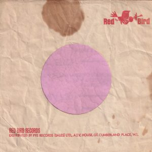 Red Bird Records U.K. Company Sleeve 1964 – 1966