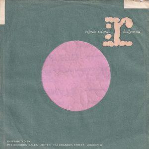 Reprise Records U.K. Pink R Distr. By Pye 10A Chandos St. Address Company Sleeve 1961 – 1964