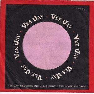 Vee-Jay Records U.S.A. Company Sleeve 1962 – 1963