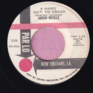 "Aaron Neville "" A Hard Nut To Crack "" Parlo Vg+"