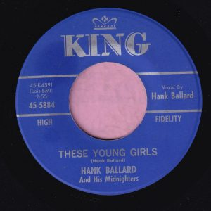 "Hank Ballard And His Midnighters "" These Young Girls "" King M-"