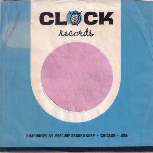 Clock Records U.S.A. Company Sleeve 1961 – 1962