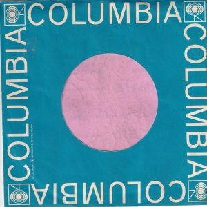 Columbia U.S.A. Cadet Blue Reg Details Short Text Left Side Company Sleeve 1963 – 1964