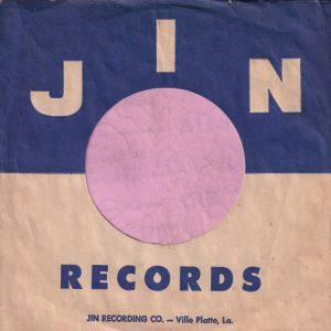 JIN Records U.S.A. Company Sleeve 1958 – 1991