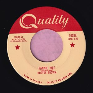 """Buster Brown """" Fannie Mae """" Quality ( Canadian ) Vg+"""