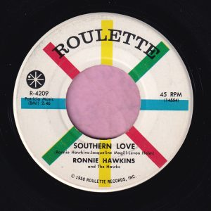 """Ronnie Hawkins """" Southern Love """" Roulette Vg+"""