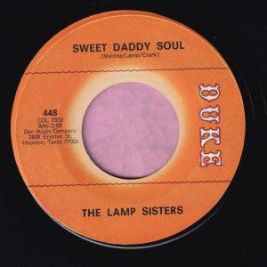 "The Lamp Sisters "" Sweet Daddy Soul "" Duke Vg+"