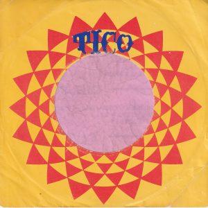 Tico U.S.A. Fania Distribution Company Sleeve 1975 – 1977