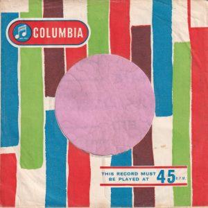 Columbia U.K. Company Sleeve 1961 – 1962