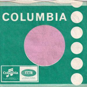 Columbia U.K. 6′ to 50′ Tokens , Use New Emitex Company Sleeve 1964 – 1965