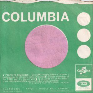 "Columbia Uk Miners Make Up Advert  "" Hair Goes Wild "" Company Sleeve 1966 – 1967"