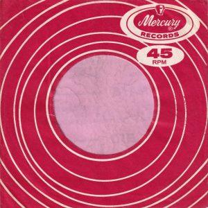 Mercury Records U.K. Company Sleeve 1964 – 1970