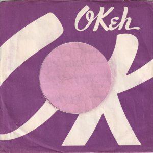 Okeh U.S.A. Without Address Details Company Sleeve 1965 – 1970