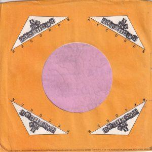 ABC Dunhill Records U.S.A. Company Sleeve 1973