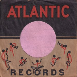 Atlantic Records U.S.A. Artists , Two Lines Of Text Company Sleeve 1953 – 1960