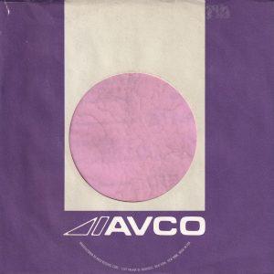 Avco U.S.A. 1301 Avenue Of The Americas Address Purple and Grey Without A Notch Company Sleeve 1971 – 1973