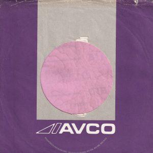 Avco U.S.A. 1301 Avenue Of The Americas Address Purple and Grey With Notch Company Sleeve 1971 – 1973