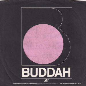 Buddah U.S.A. Arista Distribution Company Sleeve 1977 – 1981