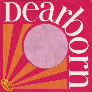 Dearborn U.S.A. Company Sleeve Orange Rays 1965 – 1969
