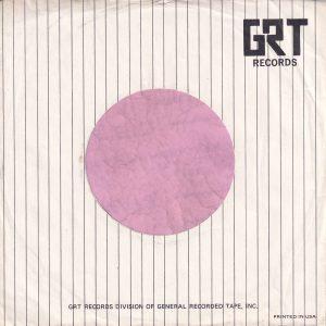 GRT Records U.S.A. Company Sleeve 1968 -1969