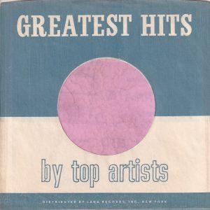 Lana Records U.S.A. Company Sleeve 1964 – 1969